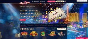 vegas plus casino homepage interface
